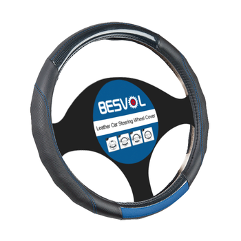 FX-P-180923  newly Fashion sport Genuine steering wheel cover