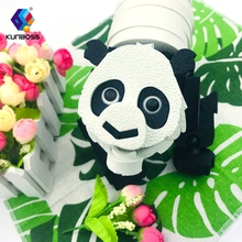 Top selling educational intelligence toy panda EVA foam  3D puzzle game for wholesale