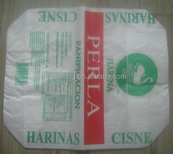 25kg 50kg Flour Sacks With Valve Filling Spout For Sale