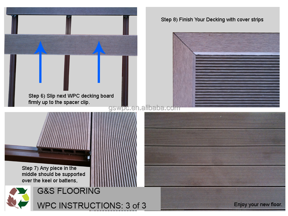 Swimming Pool Tile Recycled Material Wpc Decking Wood Plastic ...