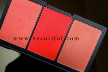 Wow! Multi-color natural blush pallet, high light blusher for cheek, OEM cosmetics powder blushes