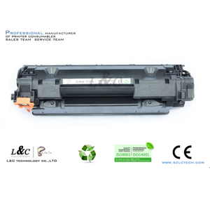 high quality compatible toner cartridge 725 compatible with chip resetter