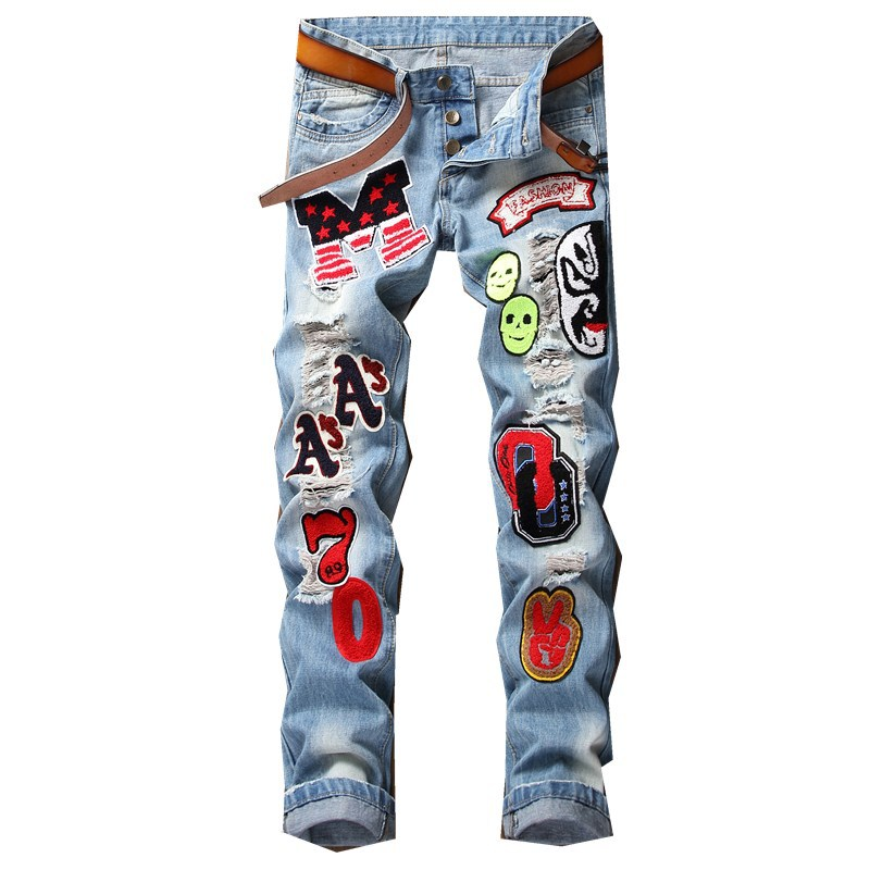 S425 New Hot Top Quality Custom Printed Jean Wholesale From China
