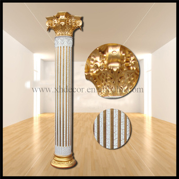 Frp Decoration Roman Column Pillar Pu Roman Column Home Decor Gate Pillar Design