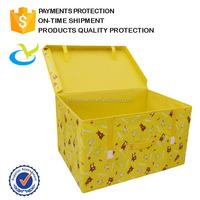 The fancy decorative cardboard waterproof nonwoven folded underwear storage box
