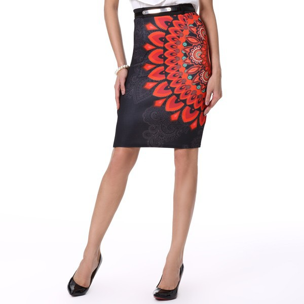 knee length formal skirts dress