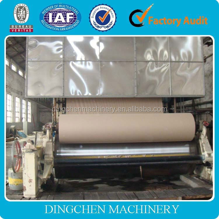 the most popular products 2400mm craft/fluting paper manufacturing plant