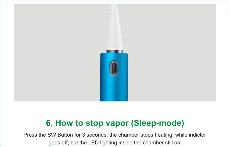 Vape Pen Dry Herb Vaporizer e Cig Vapormax V
