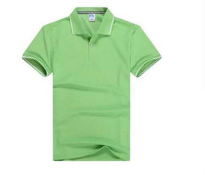 OEM High Quality Worker Uniform Men Green Cotton Polo t Shirt