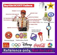 Boy/Girls Scout Uniform pins