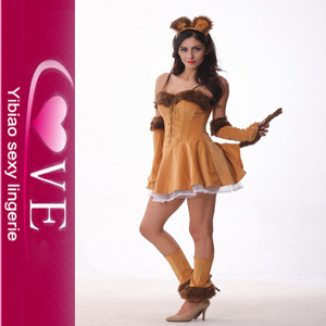 Hot Sale Sexy Pussy Cat Costume Good Quality Animal Adult Lady Sexy Costume Wholesale All Kinds Of Sexy Party Animal Costume