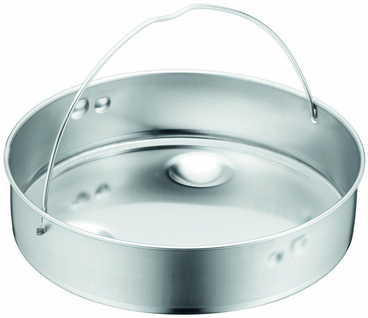 WMF Perfect Plus Solid Insert for 4-1/2-Quart, 6-1/2-Quart, 8-1/2-Quart Pressure Cookers
