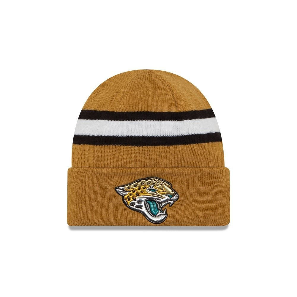 Jacksonville Jaguars 2016 NFL On Field Color Rush Cuff Knit Beanie  (One-Size) 4dea73271