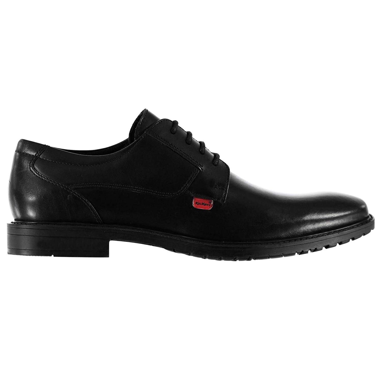 3f1b88713e449 Kickers Kids Boys Chreston Junior Lace Shoes Leather Tonal Stitching Formal
