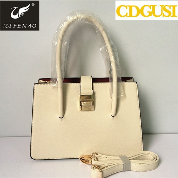 2014 The most beautiful <strong>design</strong> four season pu lady leather handbag women tote bags