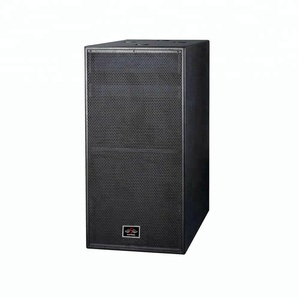 Big bass subwoofer 18 inch 1500 watts pa speakers