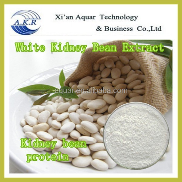 Natural Phaseolin 1% 2% White kidney bean extract powder