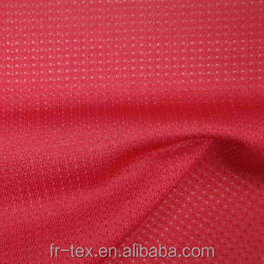 100 Polyester Tricot Dazzle Sport Mesh Cool Touch Fabric For Making Basketball Shorts