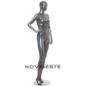 cheap fashion silver mannequin female dummy for sale Sara-01