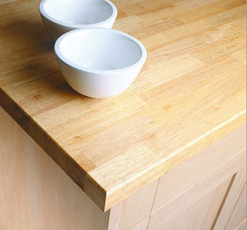 Gentil Solid Rubberwood Butcherblock Countertops