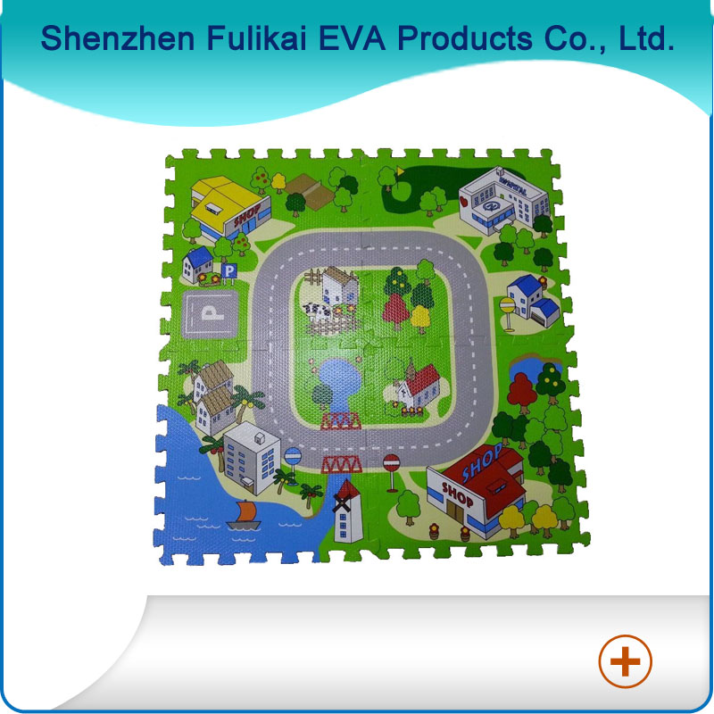 Manufacture Of Customized EVA Children Educational Jigsaw Puzzles