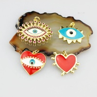 CH-HDP0064 new fashion enamel charm jewelry pendant, multi-style jewelry accessories, exquisite enamel jewelry wholesale
