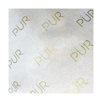 ZPT3-11 Custom popular printed logo moisture proof gold gift tissue paper wrapping paper, packaging paper