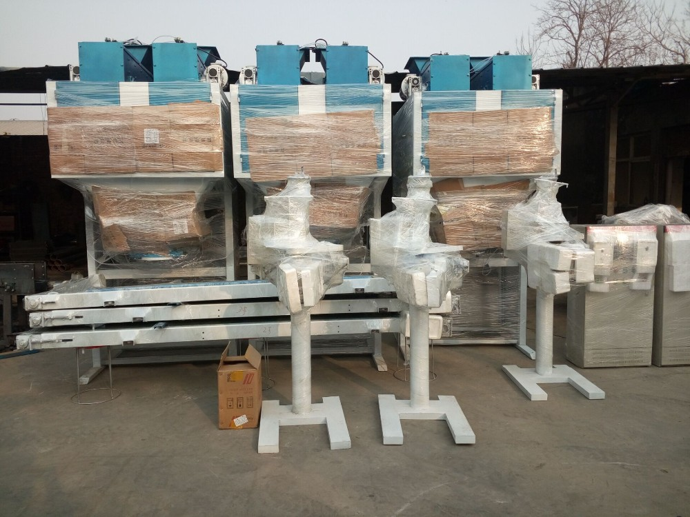 Charcoal Briquette Packaging Machine (dual-hopper Type)
