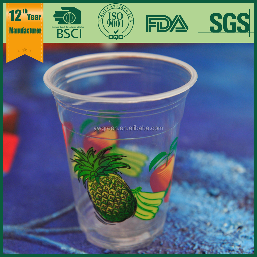 Hot sale disposable plastic cups/clear plastic cup/wholesale plastic mini plastic dessert cups for drink