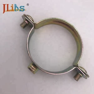 Copper clamp M7 screw thread single water support pipe clamp gas pipe
