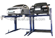 Dual-cylinder Chain driven Cable equalized Two Post Household or Office Hydraulic Parking Car Lift