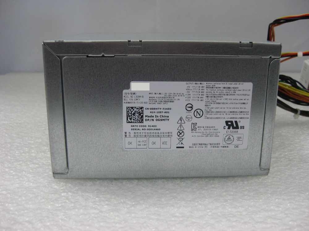 Psu For Dell Inspiron 3000 3847 300w Power Supply L300nm-01 G9mty ...