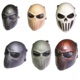 SPINA OPTICS Tactical Military Skull Skeleton Mask Paintball Airsoft Wire Mesh Spine Tingler Punisher Full Face Mask