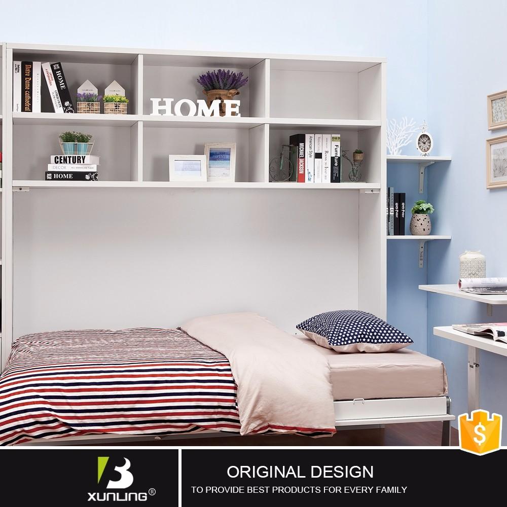 Multiusos camas ocultas en los muebles de madera con for Camas ocultas en muebles