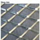 expanded metal gutter mesh of 10 x10 /12 x 12 for gutters animal cages