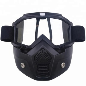 Alibaba trade assurance goggle mask cold and windproof motorcycle face eyewear for motocross and motorcycle glasses for sale