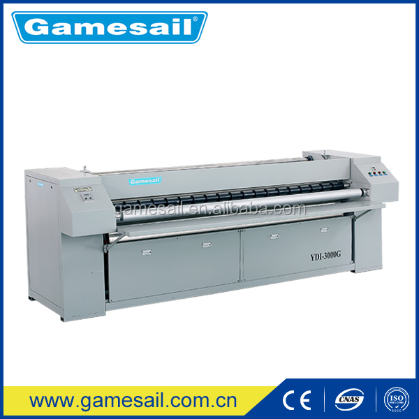 Gamesail 2016 New Vision!Automatic electrical laundry flatwork ironer price/industrial bedsheet ironing machine clothes for sale
