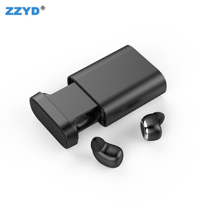 ZZYD Smart Headphones Wireless Sport Headset In Ear Bluetooth Earphones With Charging Box