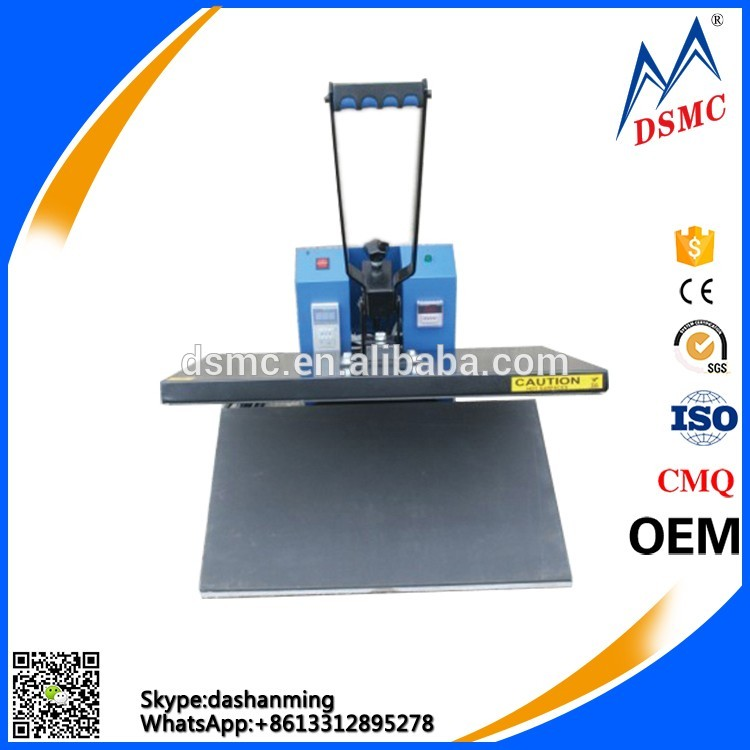 Best style manual cheap printing machine for garment sublimation