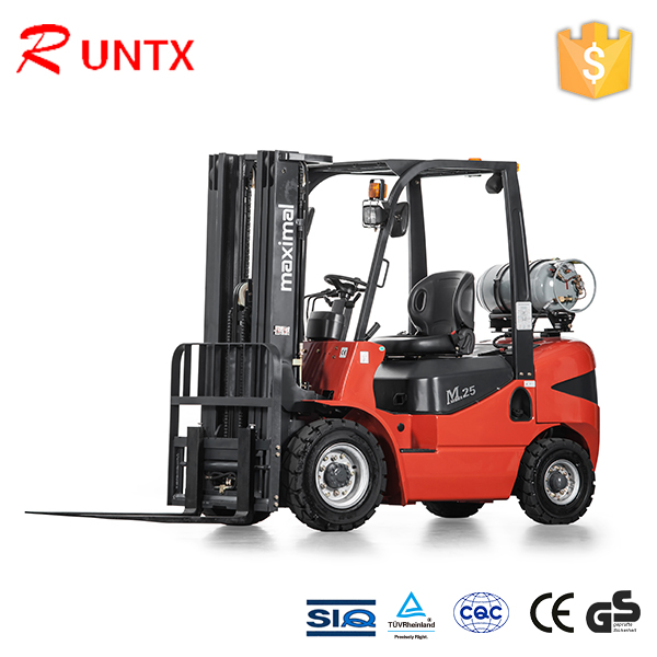 Gasoline and lpg double fuel forklift