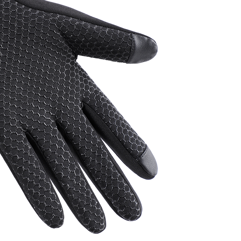 Custom touch screen man hand warm sport bike cycling winter gloves for man