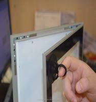 AF12A aluminum frame magnetic slim led light box picture frame wall decoration