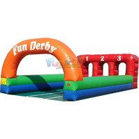 Commercial games Inflatable Pony Hop inflatable horse racing horse race game