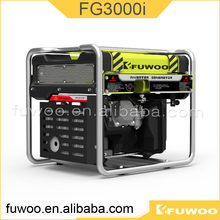 High Quality Fuwoo Fg3000i Cheap Gas 7kva Inverter Generator