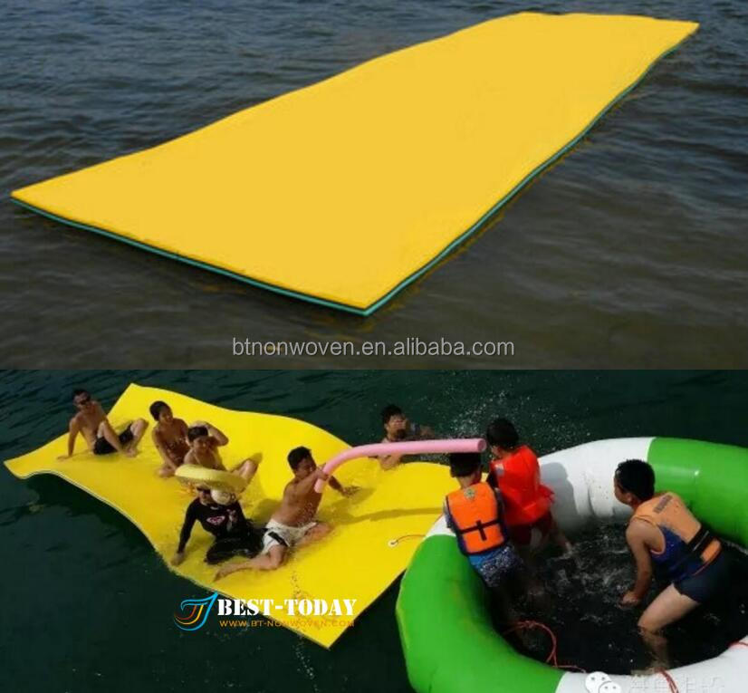 <strong>water</strong> floating mat/Soft foam swimming pool floating mats