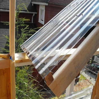 Transparent Roofing Material/ Clear Polycarbonate Corrugated Roofing Panels  - Buy Roofing Material,Transparent Roofing Material,Clear Polycarbonate