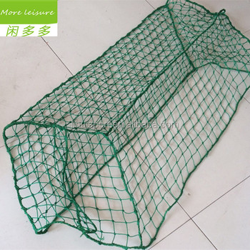 customized size polyethylene baseball hitting cage nets