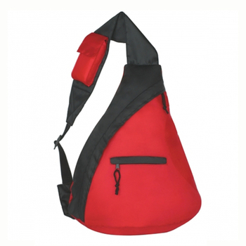 College students hiking shoulder sling bag travel 13 teenager triangular backpack