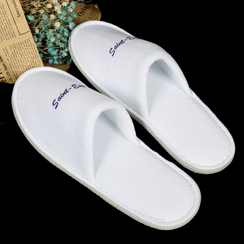 High end cheap wholesale custom disposable hotel slipper