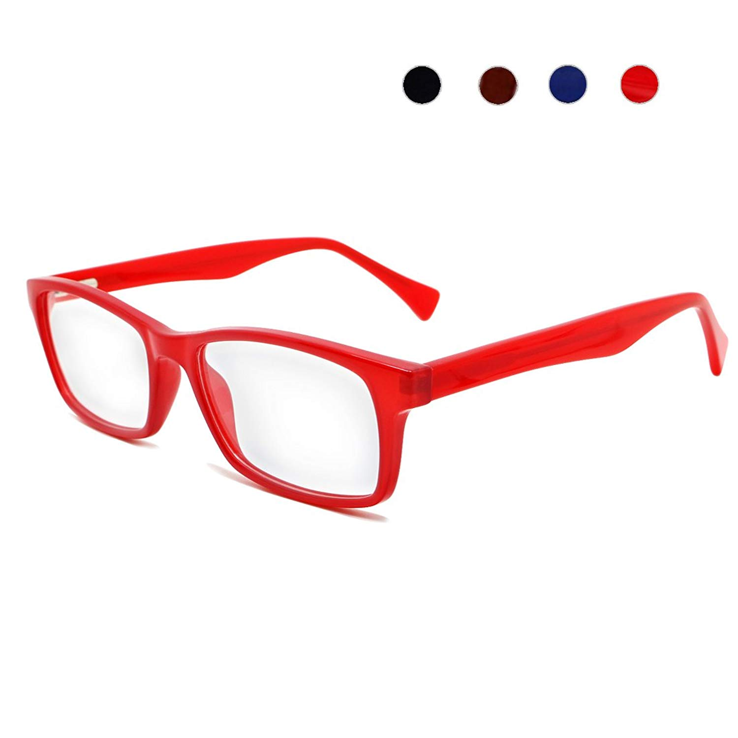 40fa8b7ad5bf Get Quotations · Coolais Unisex Eyewear Frame Women Eyeglasses Non-Prescription  Optical Eyewear Frame for Men with Clear